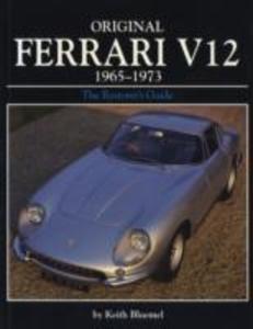 Original Ferrari V12 1965-1973 als Taschenbuch