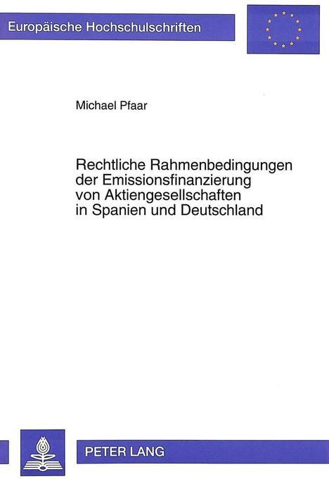 Rechtliche Rahmenbedingungen der Emissionsfinan...