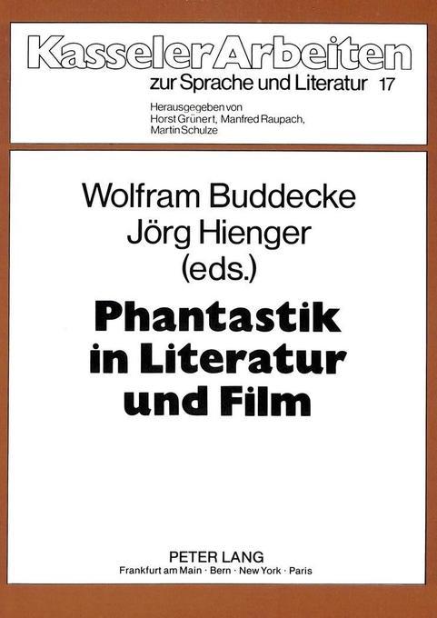 Phantastik in Literatur und Film als Buch von