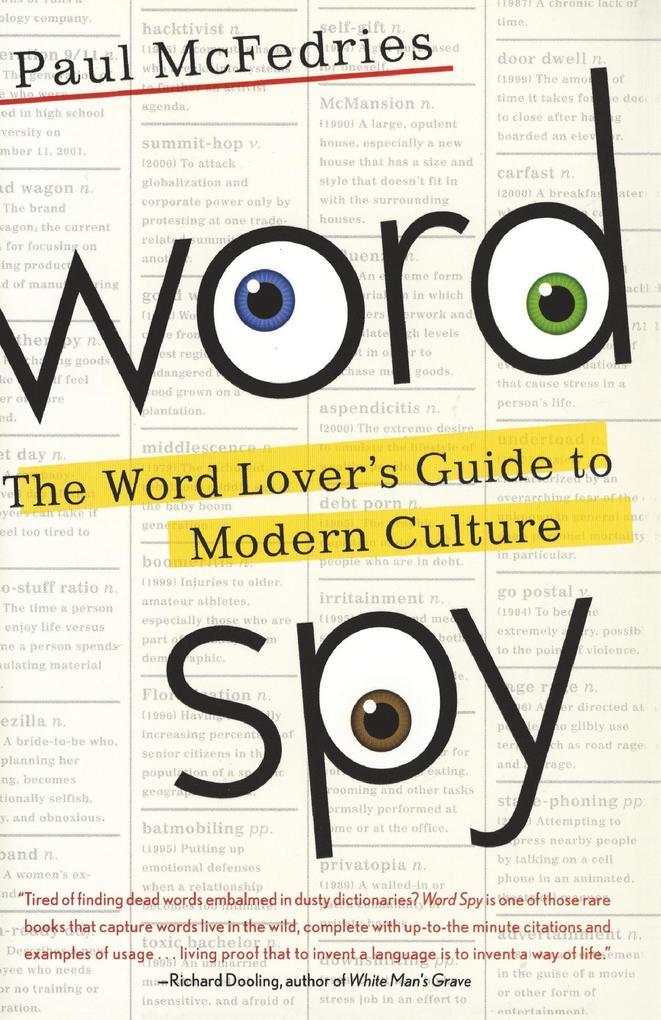 Word Spy als Taschenbuch