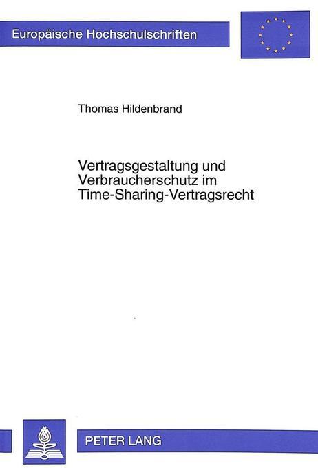 Vertragsgestaltung und Verbraucherschutz im Tim...