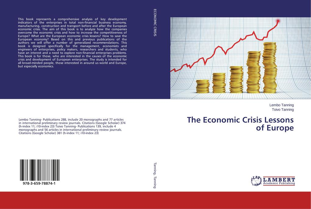 The Economic Crisis Lessons of Europe als Buch ...