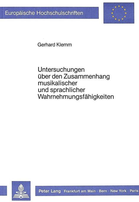 Untersuchungen über den Zusammenhang musikalisc...