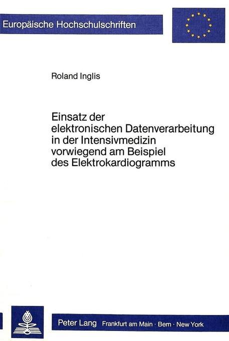 Einsatz der elektronischen Datenverarbeitung in...
