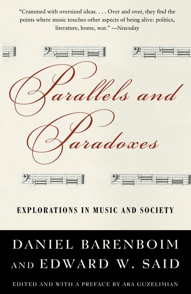 Parallels and Paradoxes: Explorations in Music and Society als Taschenbuch