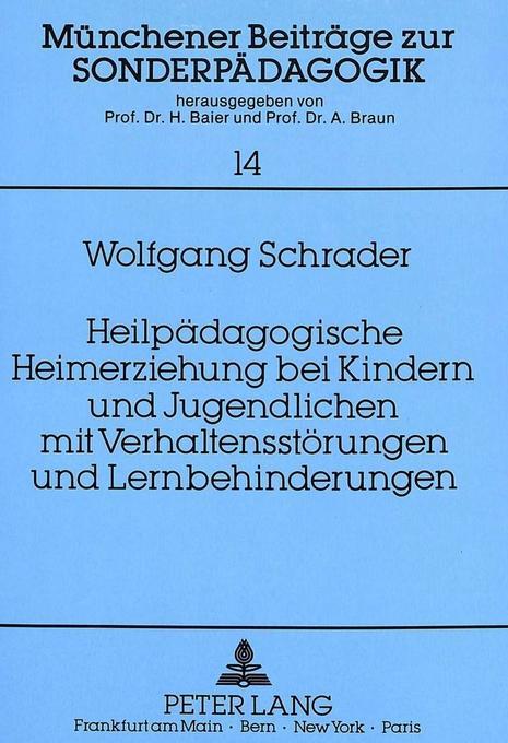 Heilpädagogische Heimerziehung bei Kindern und ...
