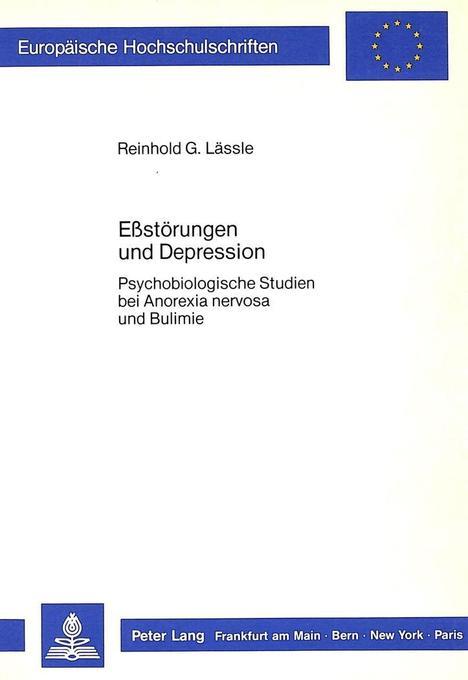 Ess-Störungen und Depression als Buch von Reinh...