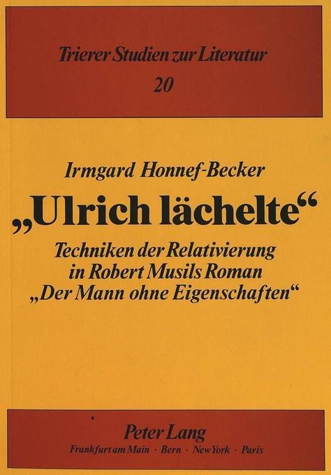 «Ulrich lächelte» als Buch