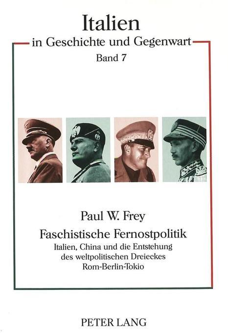 Faschistische Fernostpolitik als Buch von Paul ...