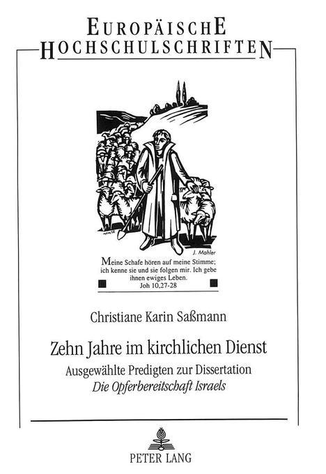 Zehn Jahre im kirchlichen Dienst als Buch von C...