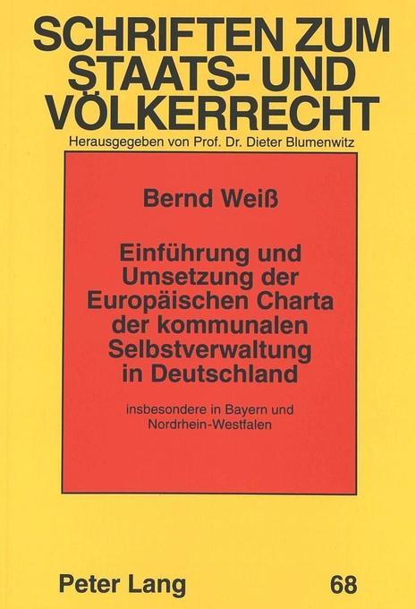 Einführung und Umsetzung der Europäischen Chart...