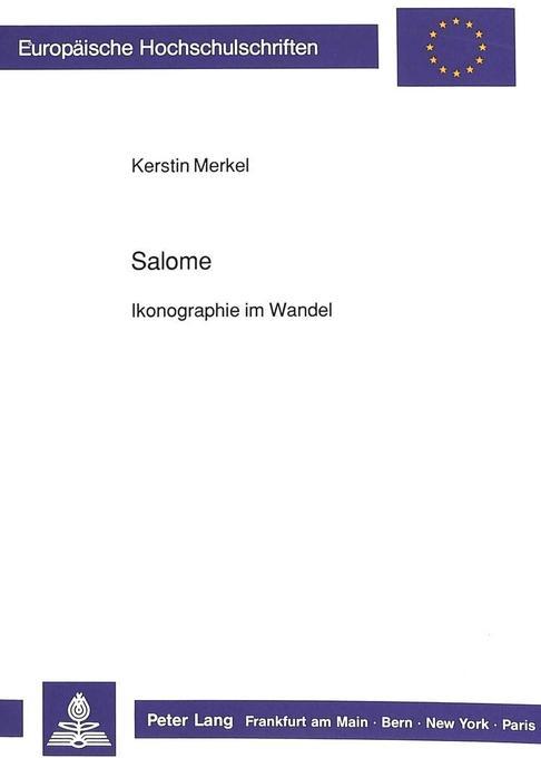 Salome als Buch von Kerstin Merkel