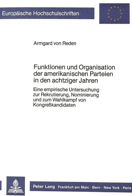 Funktionen und Organisation der amerikanischen ...