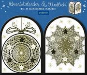 "Adventskalender & Windlicht ""Mandalas"""