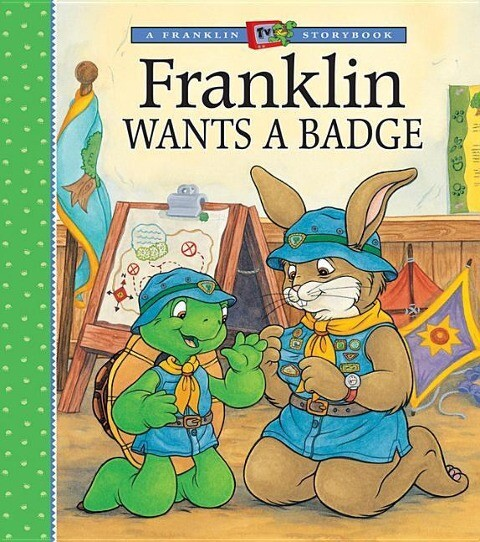 Franklin Wants a Badge als Buch