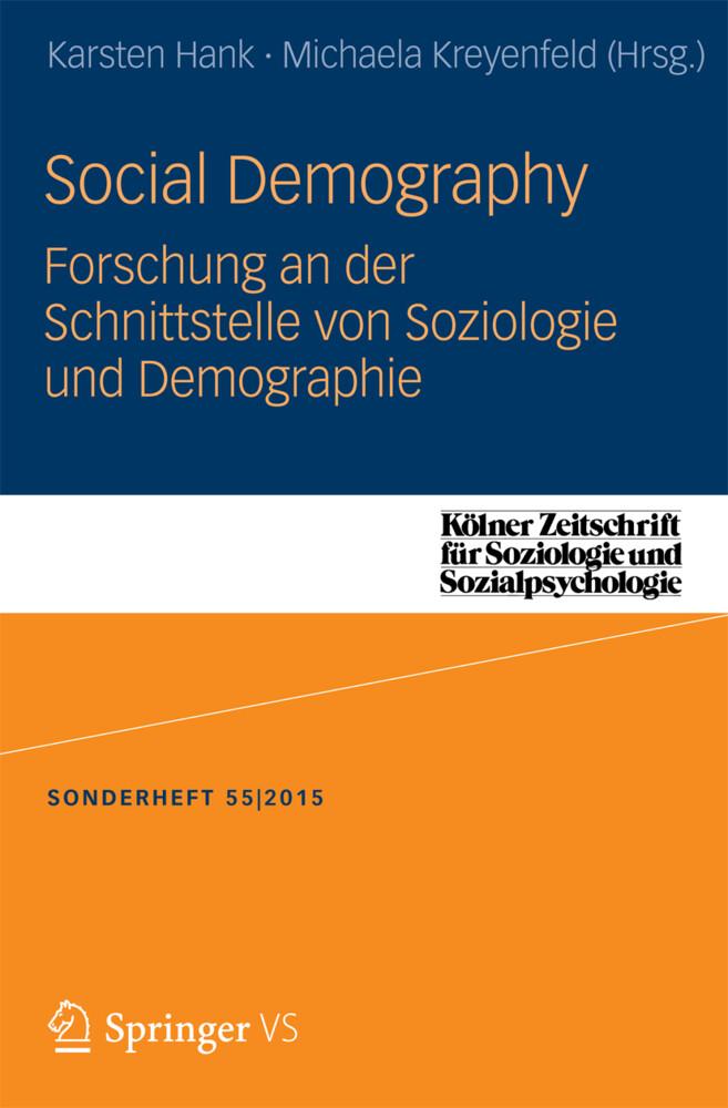 Social Demography - Forschung an der Schnittste...