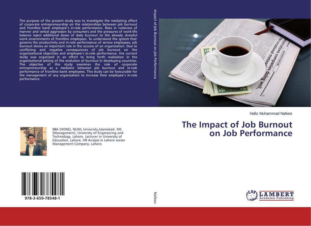 The Impact of Job Burnout on Job Performance al...
