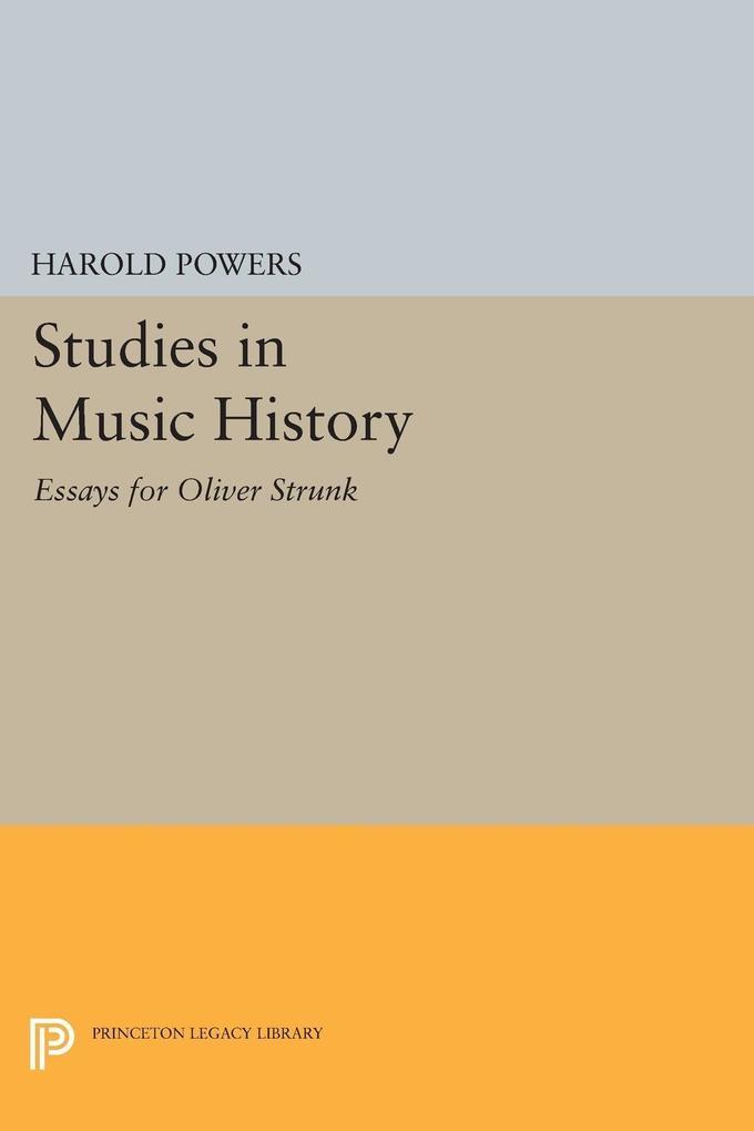 Studies in Music History als eBook Download von...