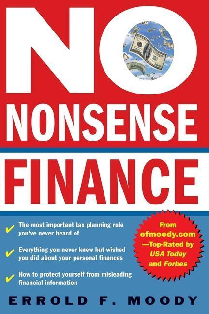 No-Nonsense Finance als Taschenbuch