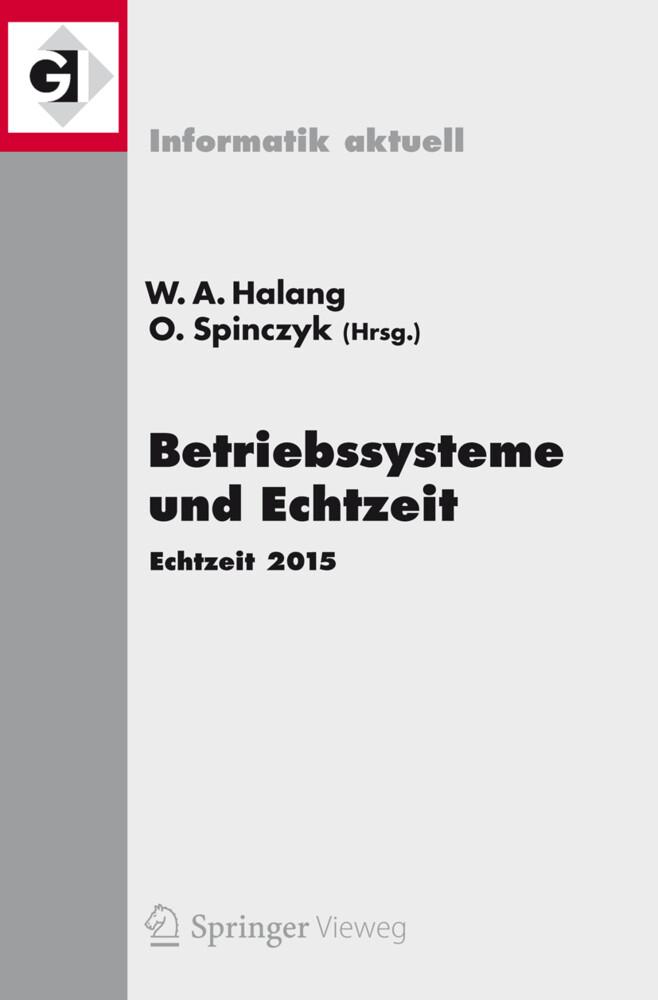 Betriebssysteme und Echtzeit als Buch von