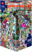 Train Station Puzzle 2000 Teile