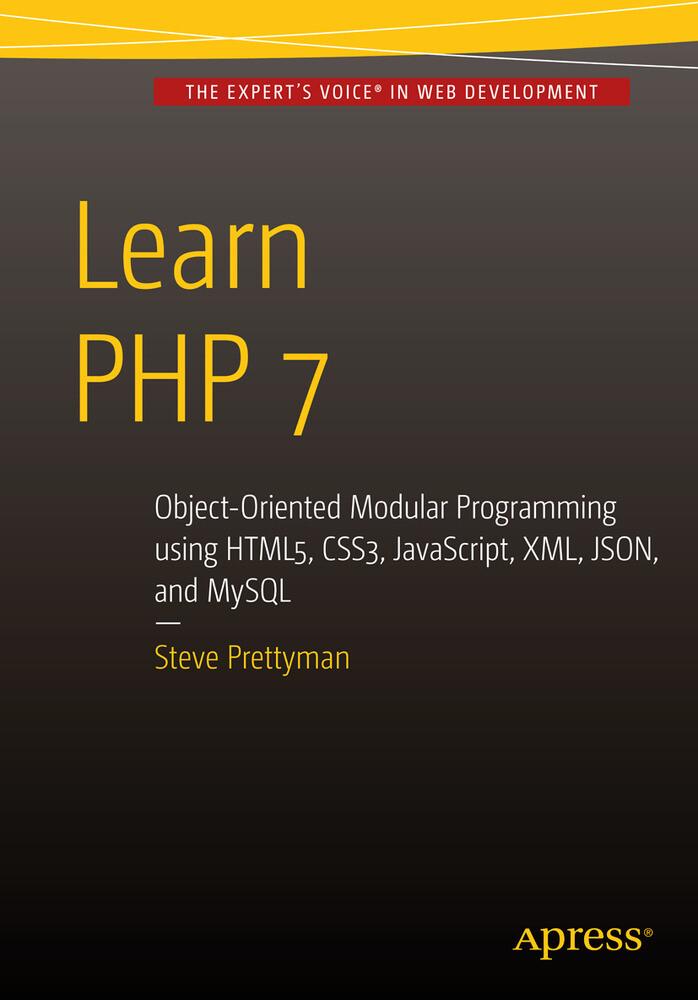 Learn PHP 7 als Buch von Steve Prettyman