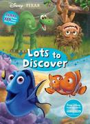 Disney Pixar Lots to Discover: Jumbo Coloring Book Plus Stickers