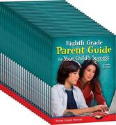 Eighth Grade Parent Guide for Your Child's Success 25-Book Set