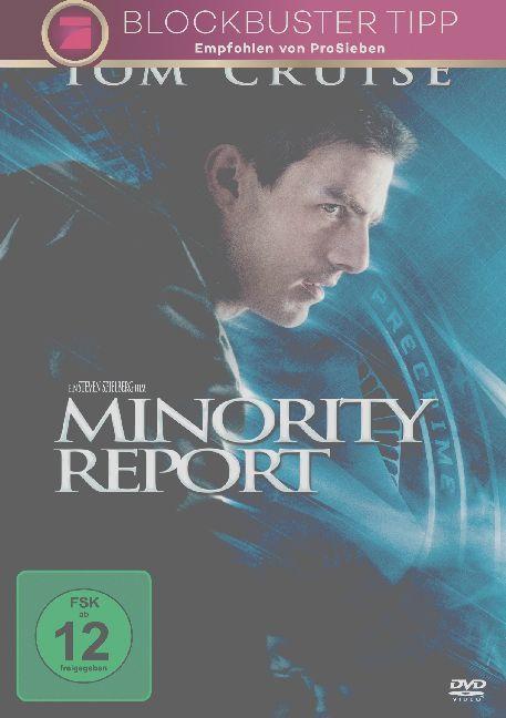 Minority Report als DVD