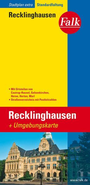 Falk Stadtplan Extra Standardfaltung Recklinghausen 1 : 20 000 als Buch