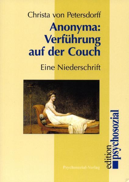 Verführung auf der Couch als Buch