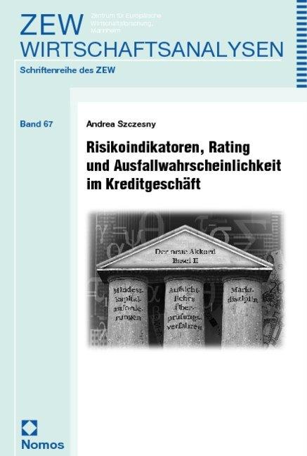 Risikoindikatoren, Rating und Ausfallwahrscheinlichkeit im Kreditgeschäft als Buch