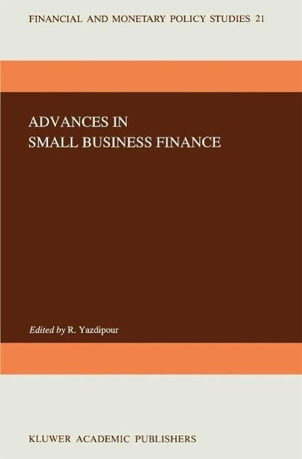 Advances in Small Business Finance als eBook Do...