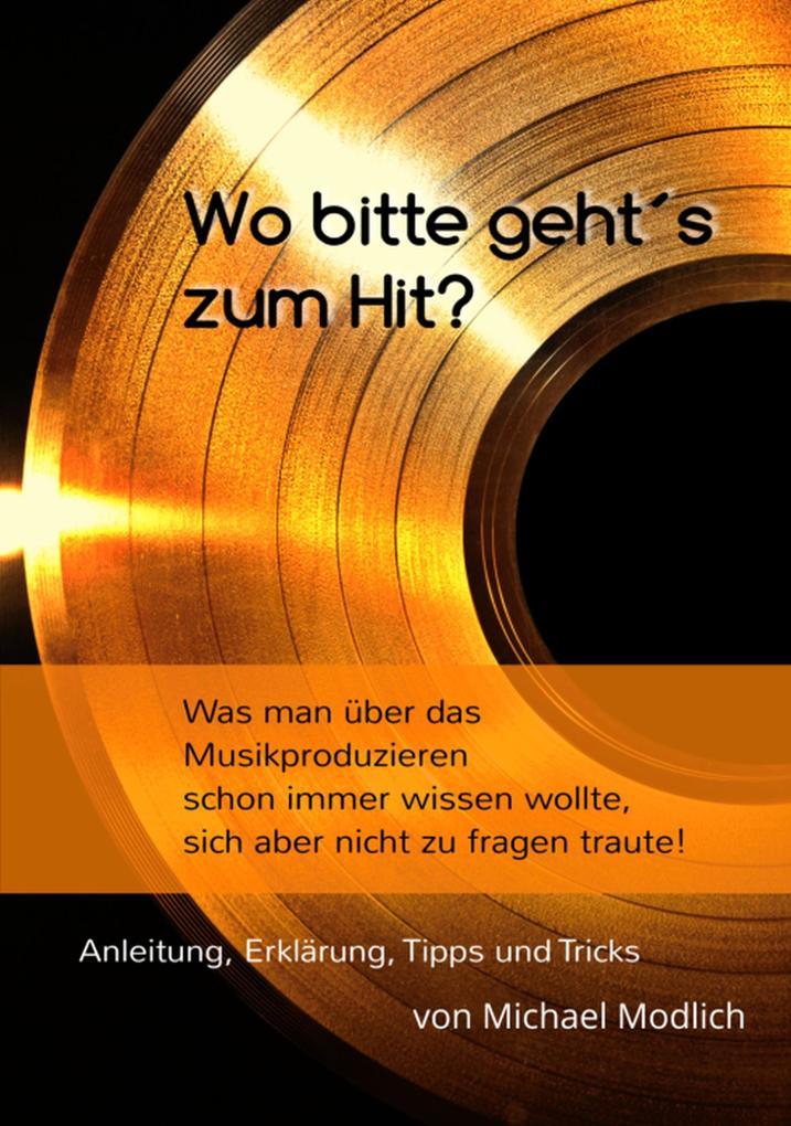 Wo bitte geht's zum Hit? Was man schon immer über das Musik produzieren wissen wollte, sich aber nicht zu fragen traute! als eBook
