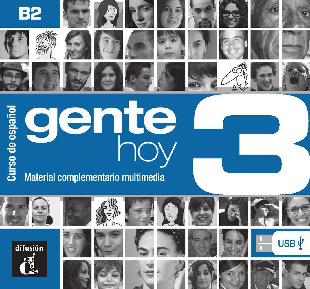 Gente hoy 3 (B2). Manual digital USB (incl. Lib...