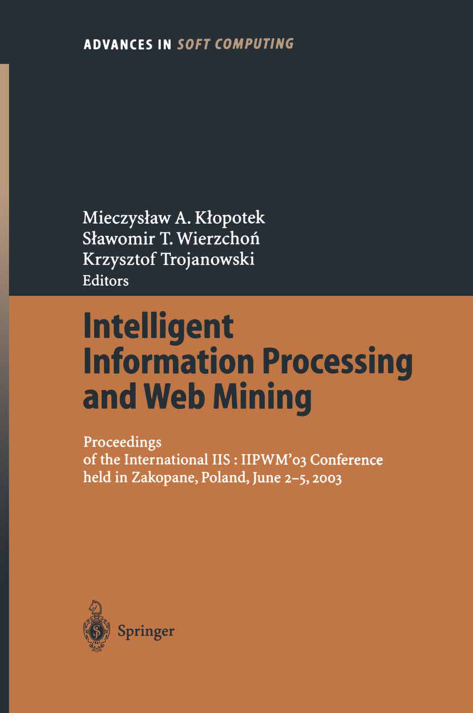 Intelligent Information Processing and Web Mining als Buch