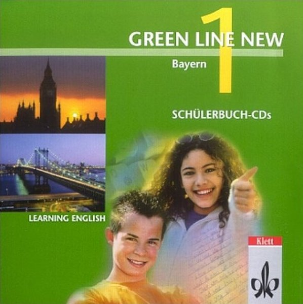 Green Line New 1. Audio CD. Bayern als Hörbuch