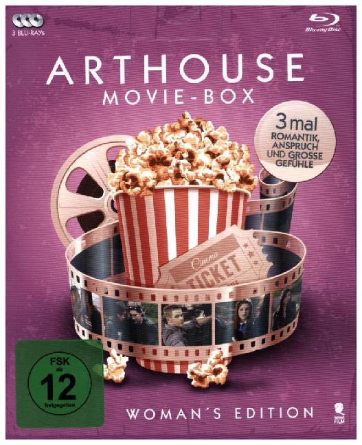 Arthouse Movie-Box - Women´s Edition, 3 Blu-ray
