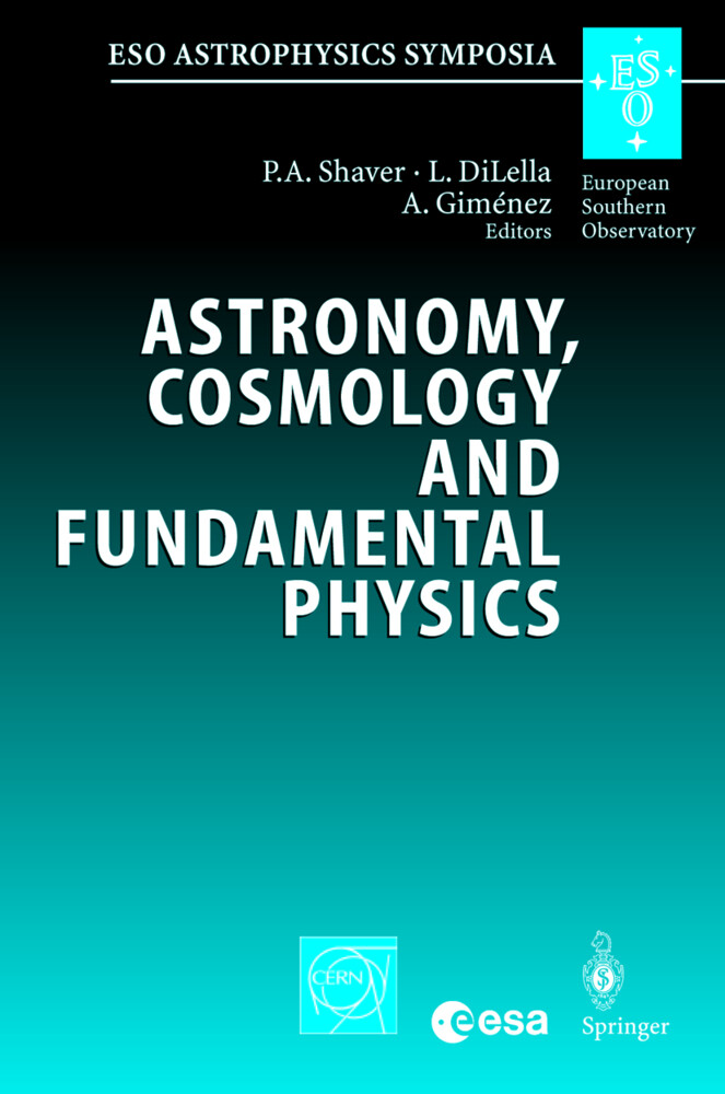 Astronomy, Cosmology and Fundamental Physics als Buch