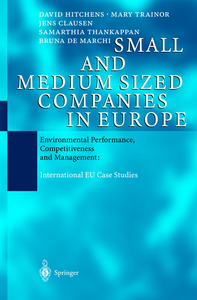 Small and Medium Sized Companies in Europe als Buch