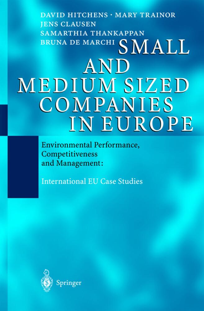 Small and Medium Sized Companies in Europe als Buch (gebunden)