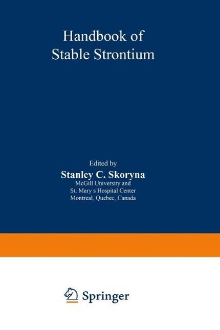 Handbook of Stable Strontium als eBook Download...