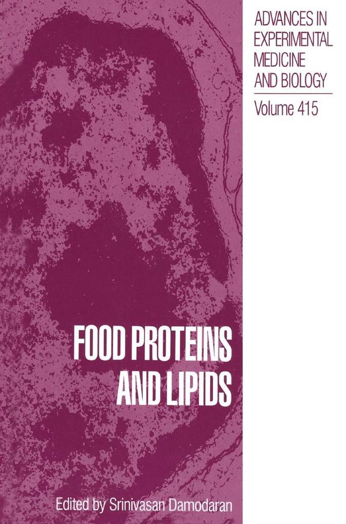 Food Proteins and Lipids als eBook Download von