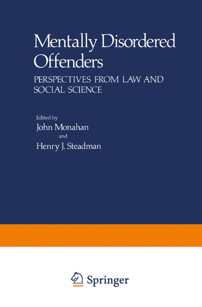 Mentally Disordered Offenders als Buch