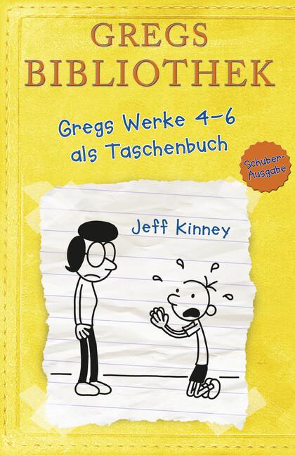Gregs Bibliothek - Gregs Werke 4 - 6 als Taschenbuch als Taschenbuch