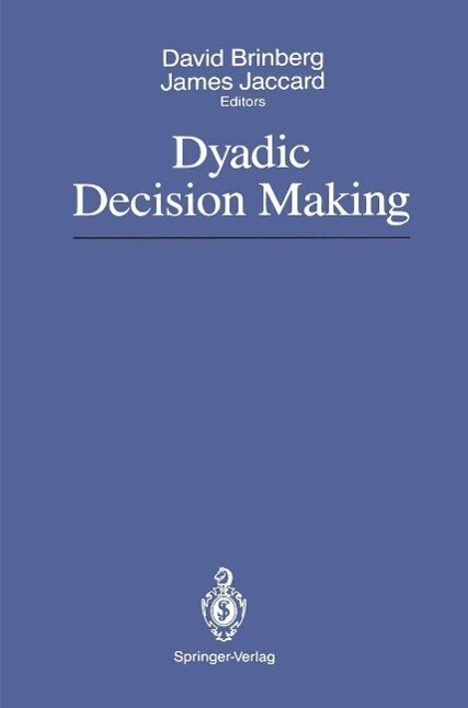 Dyadic Decision Making als eBook Download von