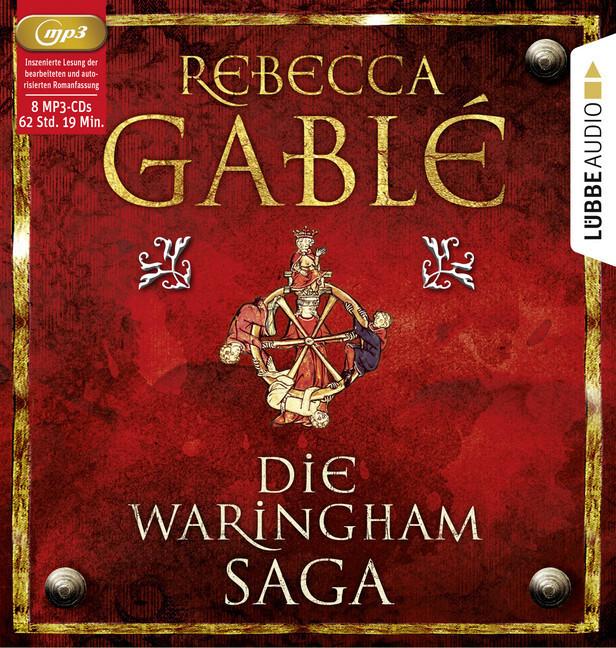 Die Waringham-Saga (8 MP3-CDs) als Hörbuch