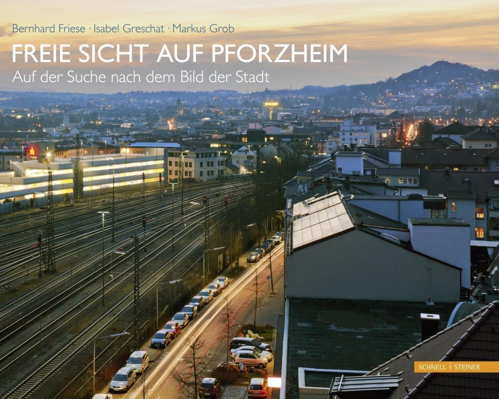 Freie Sicht auf Pforzheim als Buch von