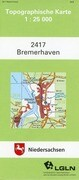 Bremerhaven 1 : 25 000. (TK 2417/N)