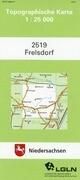 Frelsdorf 1 : 25 000. (TK 2519/N)